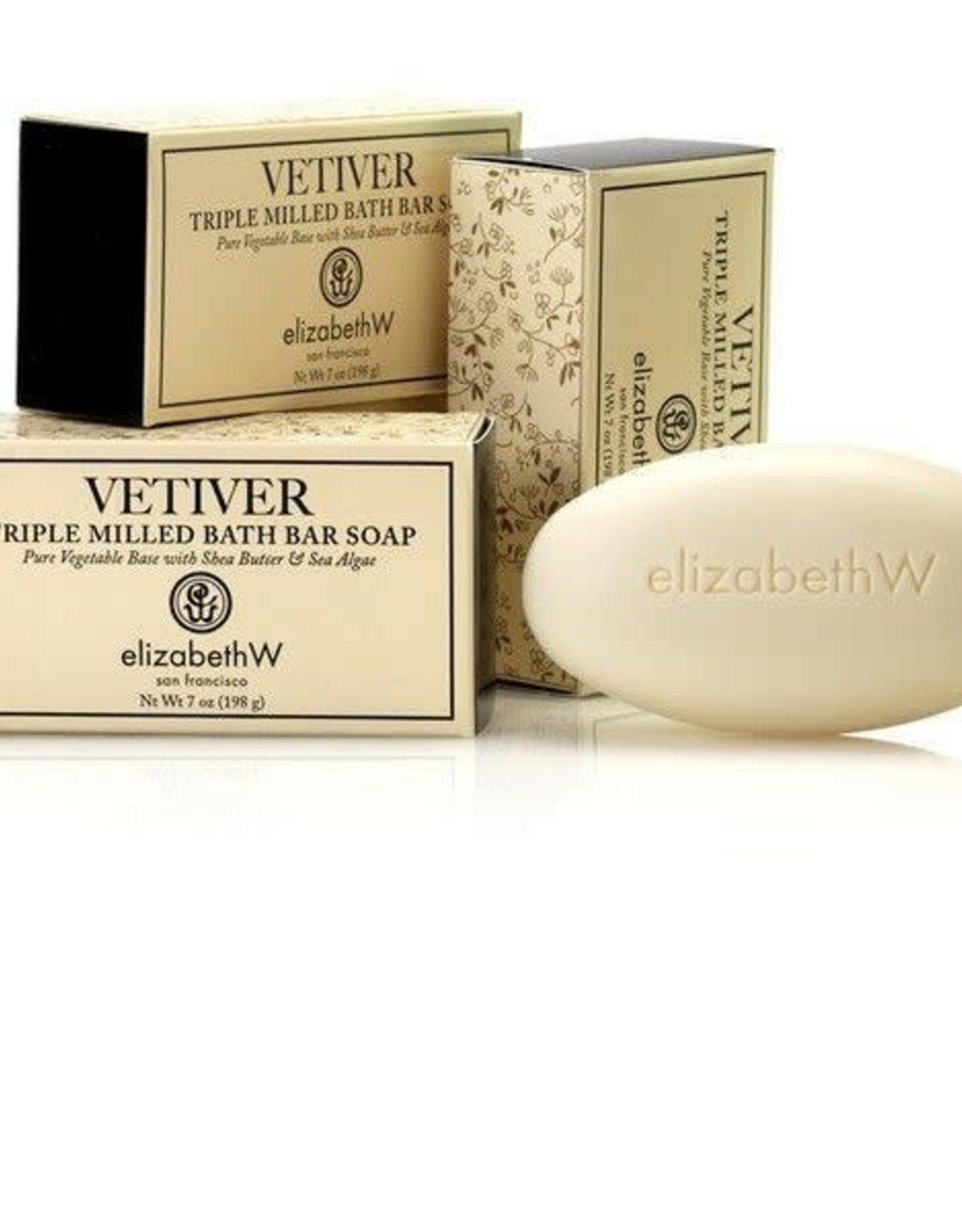 Elizabeth W. Vetiver Soap/Bath Bar 7 oz