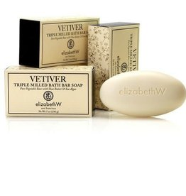 Elizabeth W. Vetiver Soap/Bath Bar 7 oz