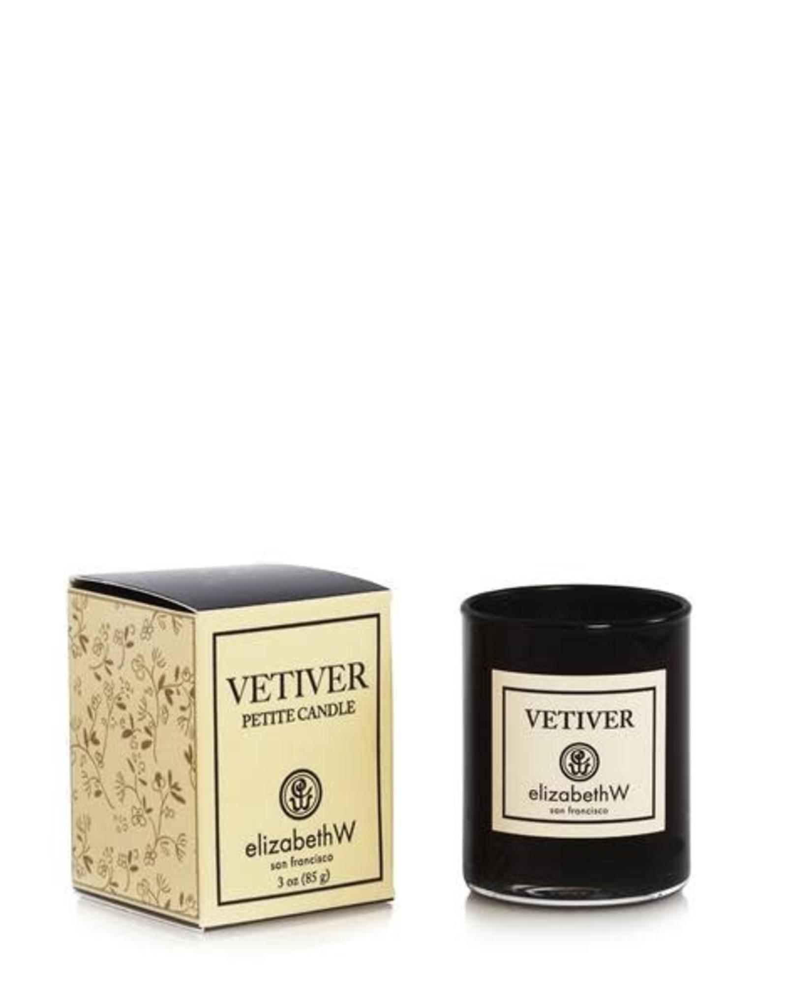 Elizabeth W. Vetiver Candle, 3 oz