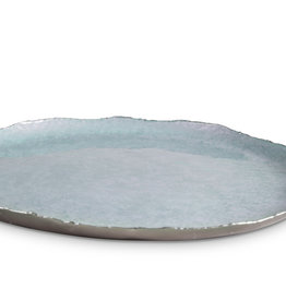 "Julia Knight 13"" Round Tray Cascade - Surf"
