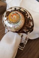 J Balcazar Design Inc Set of 2 Coastal Napkin Rings by J. Balcazar Design