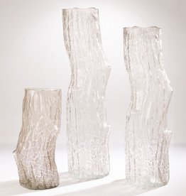 Global Views Faux Bois Glass Vases