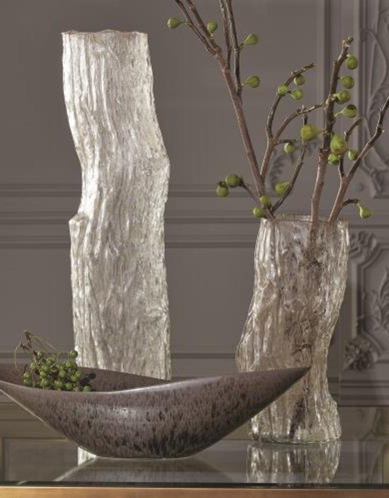 Global Views Faux Bois Glass Vases