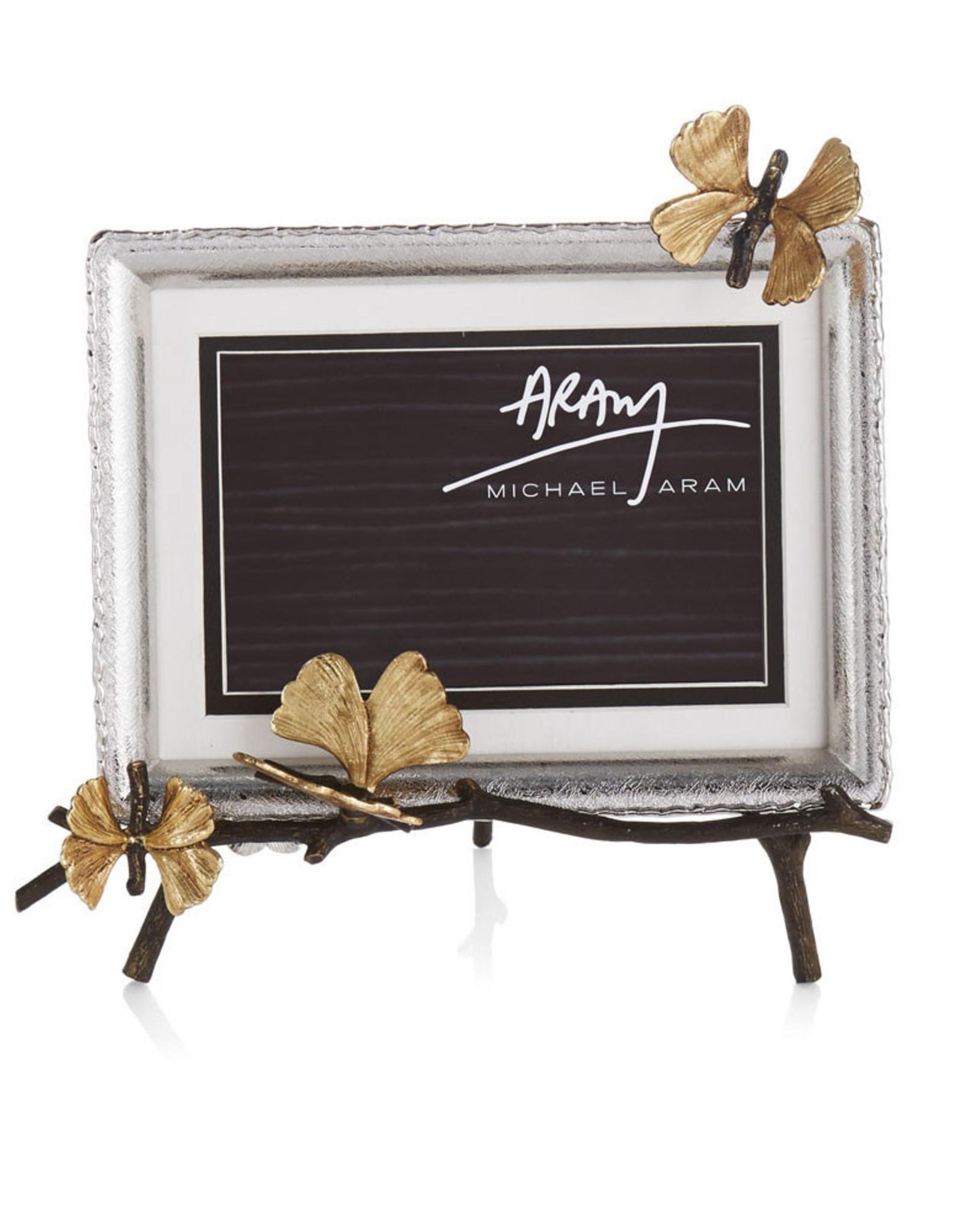 Michael Aram Butterfly Ginkgo 5x7 Easel Frame