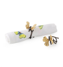 Michael Aram Butterfly Ginkgo Napkin Rings Set of 4