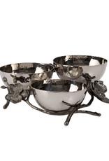 Michael Aram Black Orchid Triple Nut Dish