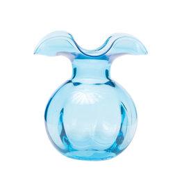 Vietri Hibiscus Bud Vase - Aqua