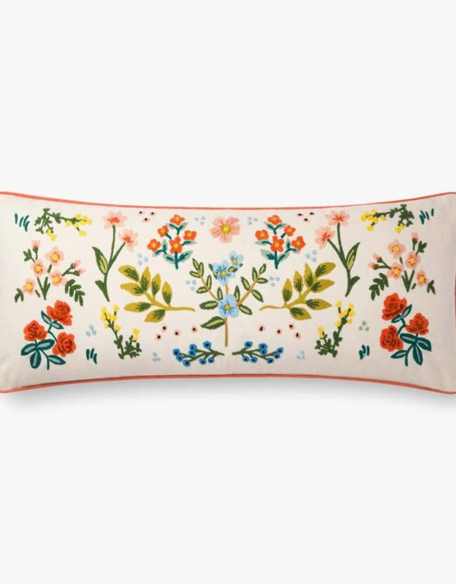 Rifle Paper Co by Loloi Rifle Paper Co IVORY / MULTI COLORS PILLOW