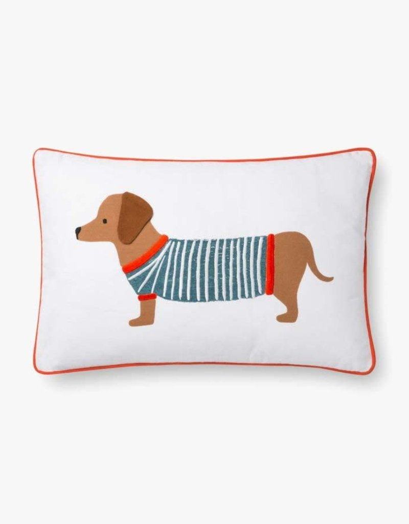 Rifle Paper Co by Loloi RP MULTI DOG SWEATER PILLOW