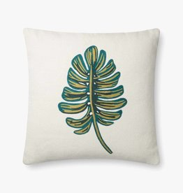 Rifle Paper Co by Loloi RP Monstera - GREEN PALM PILLOW