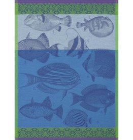 Jacquard Francais Tea Towel Moorea Ocean