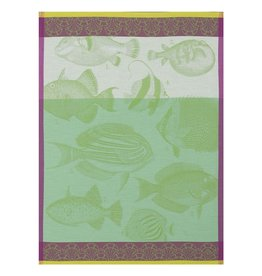 Jacquard Francais Tea Towel Moorea Green