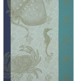 Jacquard Francais Tea Towel Fond Marin Crabe Pacifique