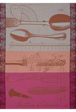 Le Jacquard Francais Tea Towel Metier D'Orfevre Copper