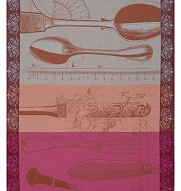 Jacquard Francais Tea Towel Metier D'Orfevre Copper