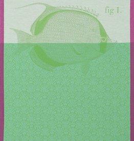 Le Jacquard Francais Tea Towel Tahiti Green