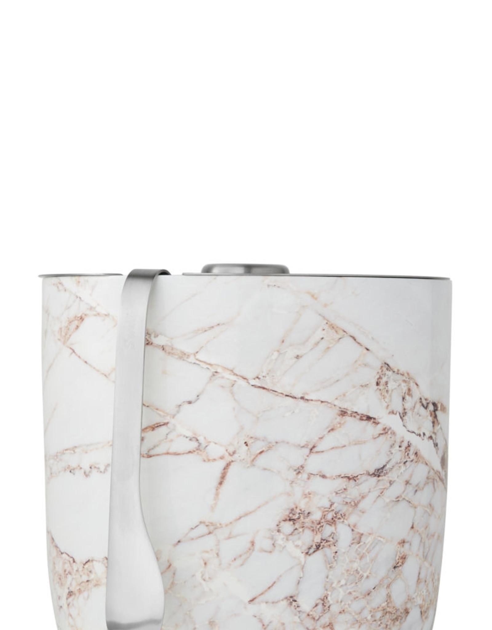 Swell Bottle 68oz Calacatta Gold Ice Bucket