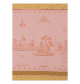 Le Jacquard Francais Plaisirs Gourmands Peche Tea Towel