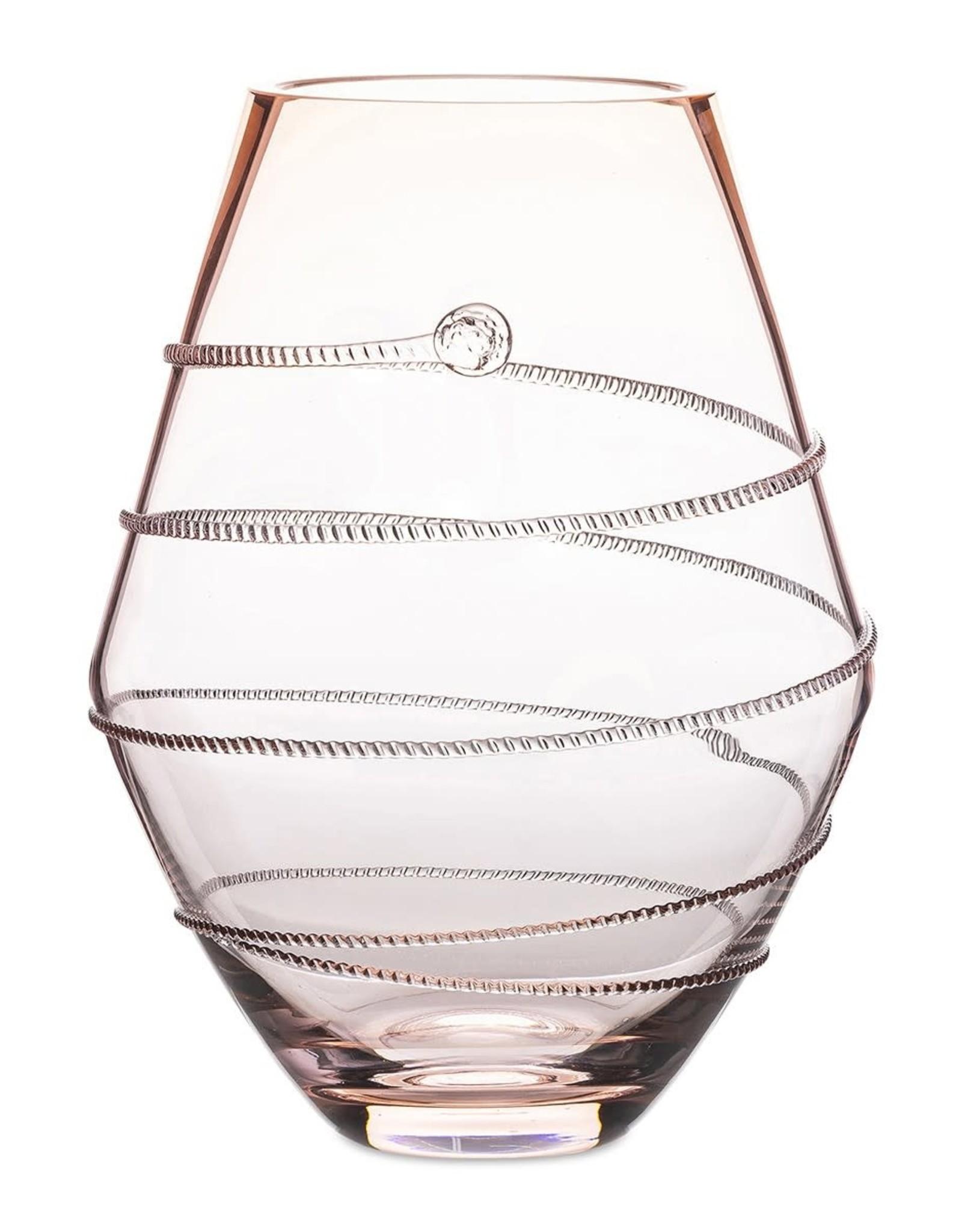 """Juliska Amalia 6"""" Pink Vase"""