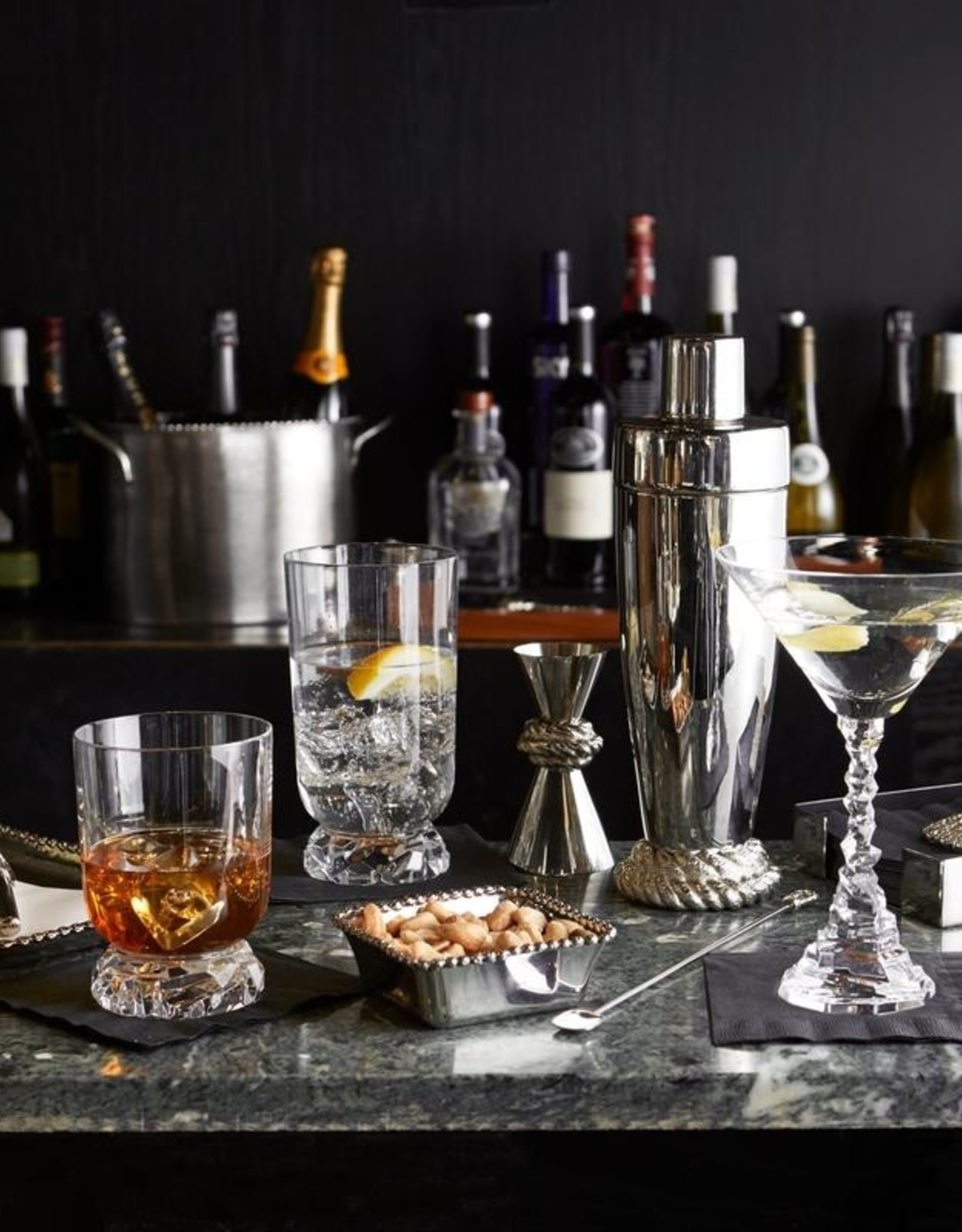 Michael Aram Rock Martini Glass