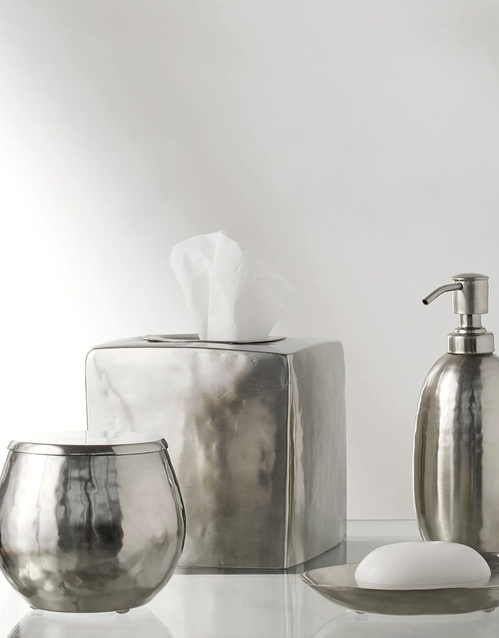 Kassatex Nile Silver Bath Accessories