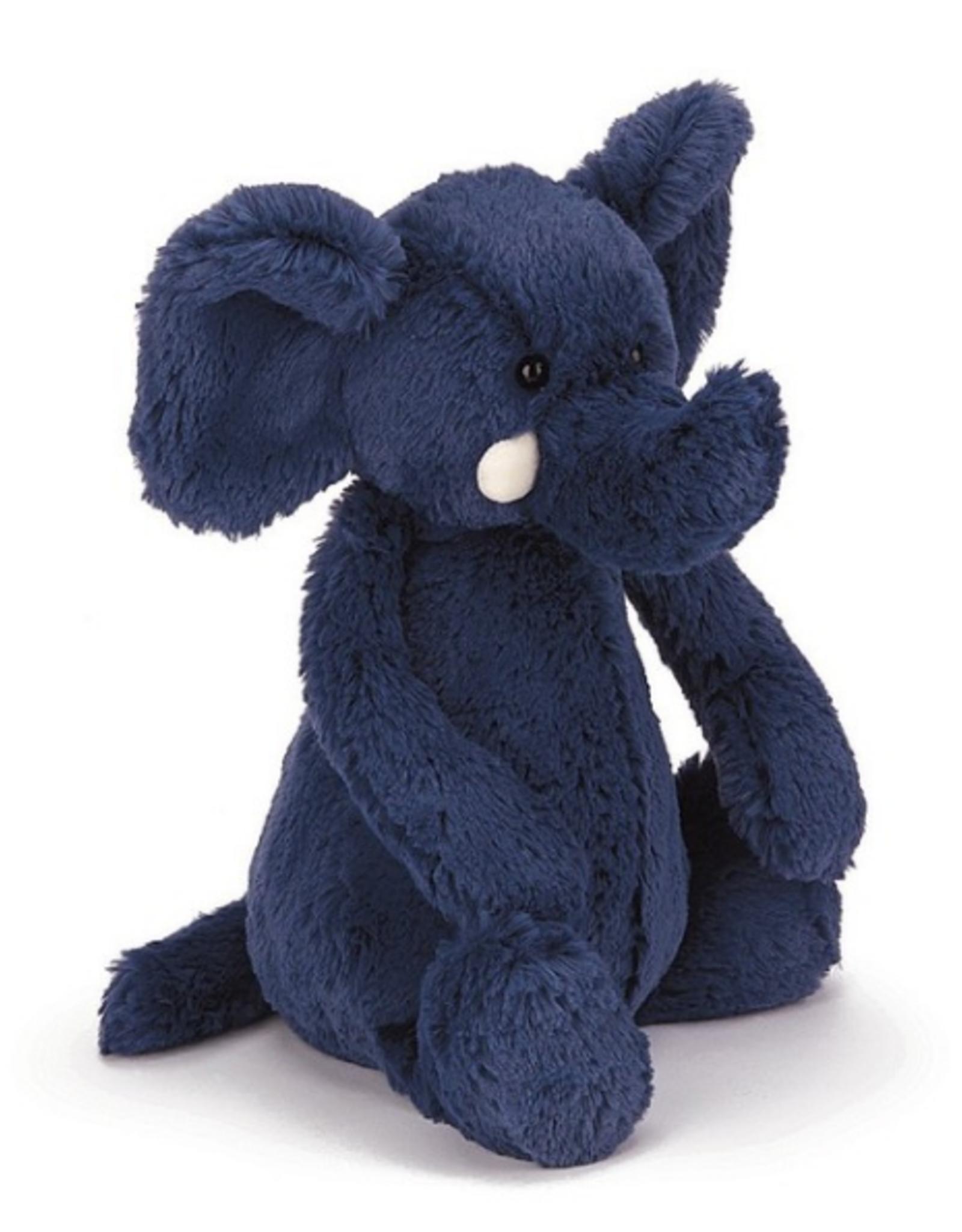 Jellycat Bashful Blue Elephant Medium