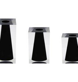 JR William Acrylic Block Bud Vase by JR William