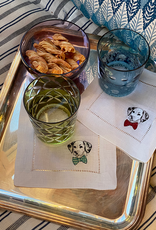 Sferra Cani Cocktail Napkins - Set of 4