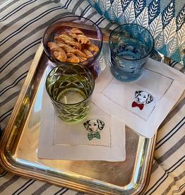 Sferra Cani Cocktail Napkins - Set of 4
