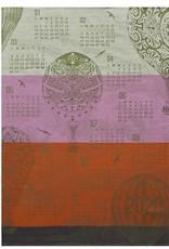 Le Jacquard Francais Tea Towel Calendar 2020 Montgolfiere