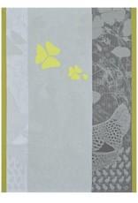 Le Jacquard Francais Farm Family Yellow Tea Towel