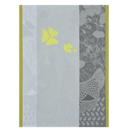 Le Jacquard Francais Farm Family Yellow Tea Towel