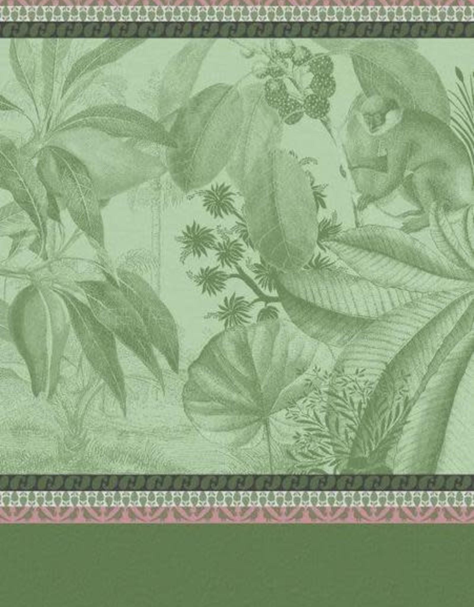 Le Jacquard Francais Voyage au Kerala Forest Tea Towel