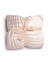 Barefoot Dreams Cozychic Palm Leaf Blanket Stone