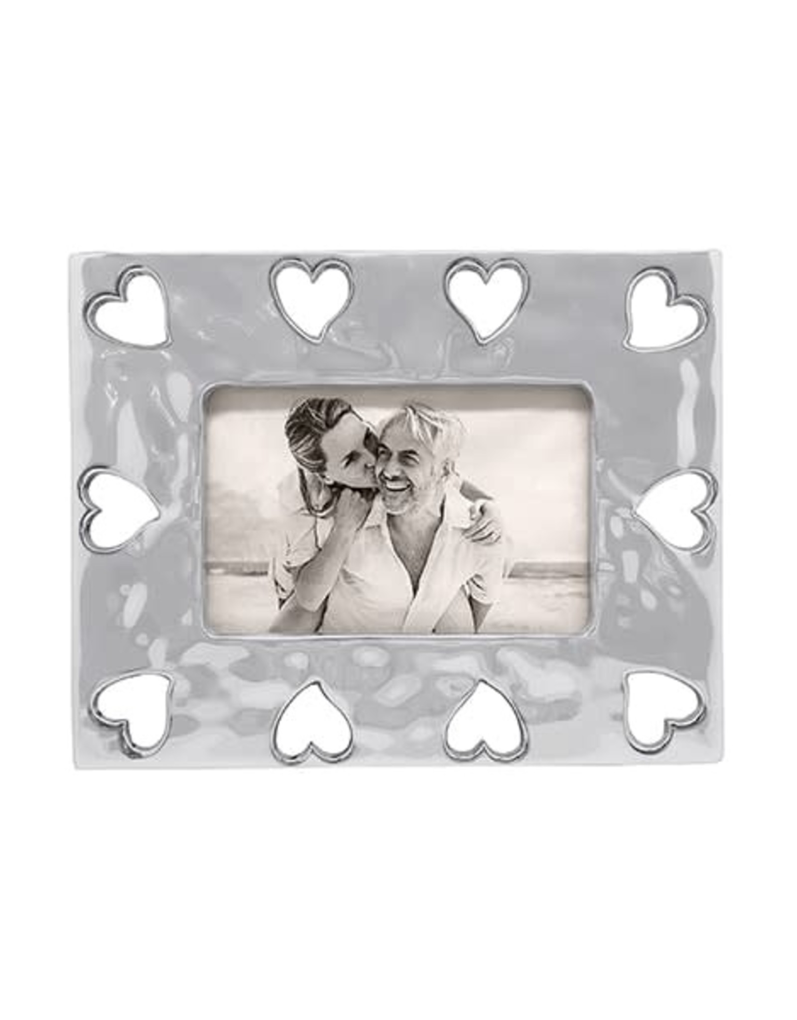 Mariposa Open Heart Bordered Frame 4x6