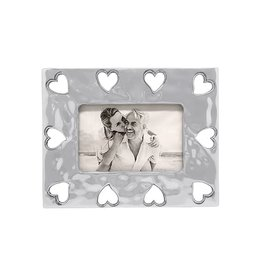 Mariposa Open Heart Bordered Frame 4x6