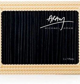 Michael Aram Twist Picture Frame 5x7 Gold