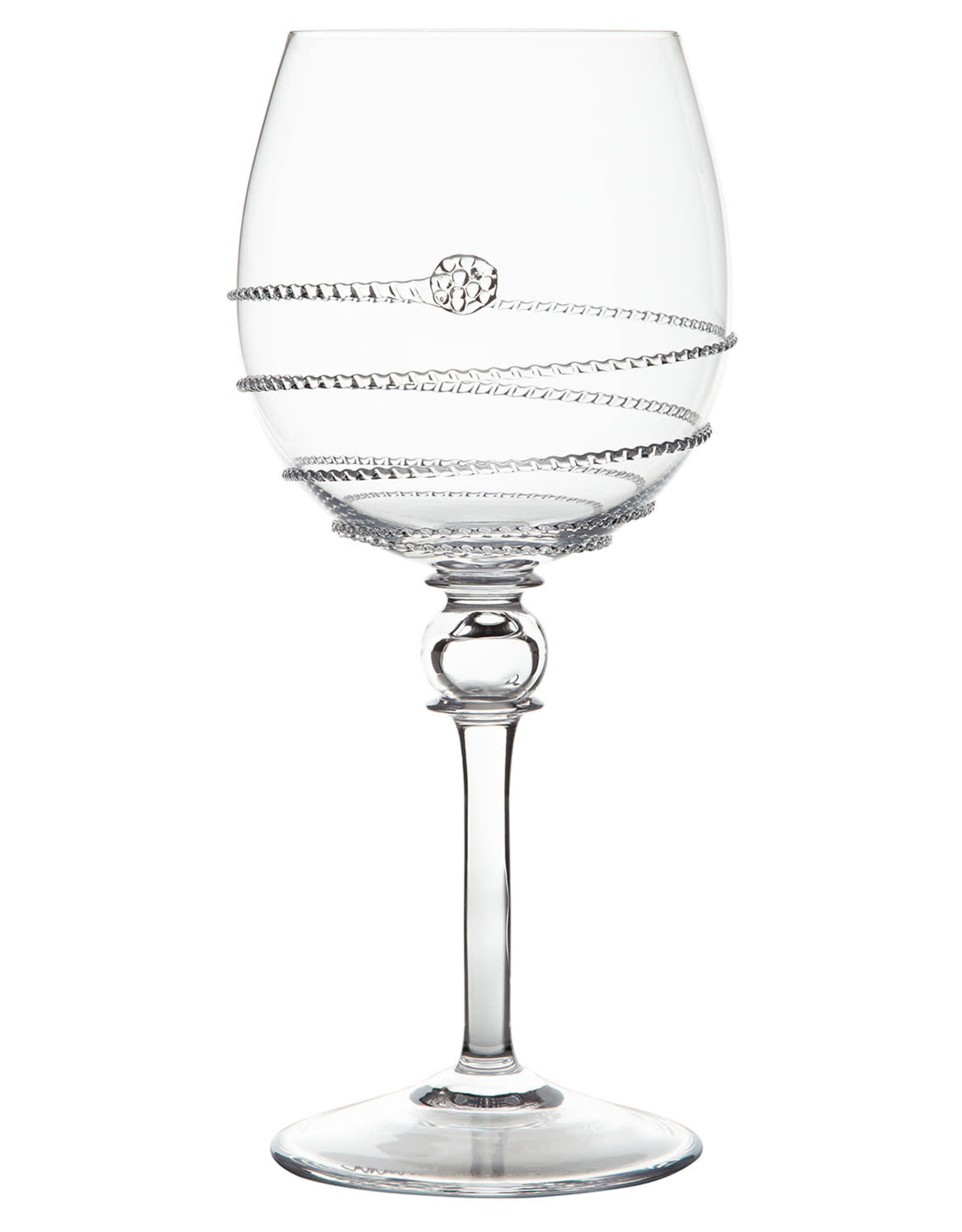 "Juliska Amalia Full Body White Wine Glass 8.5"" 16oz"