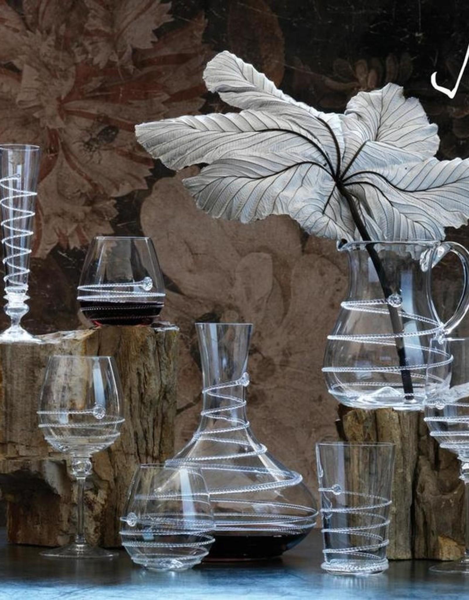 Juliska Pair of Amalia Champagne Flutes - Boxed Set