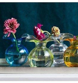 Vietri Hibiscus Bud Vases