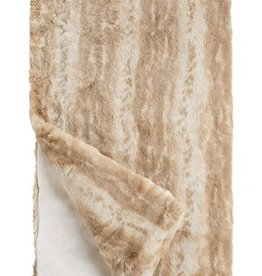 Fabulous Furs Couture Blonde Mink Throw 60x72