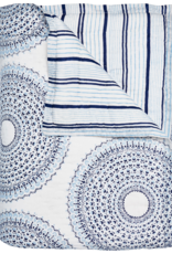 John Robshaw Textiles Lapis King Quilt