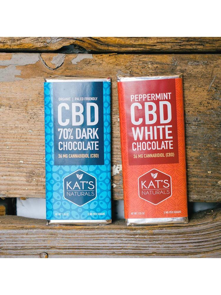 KAT'S NATURALS Kat's Naturals Edible Dark Chocolate
