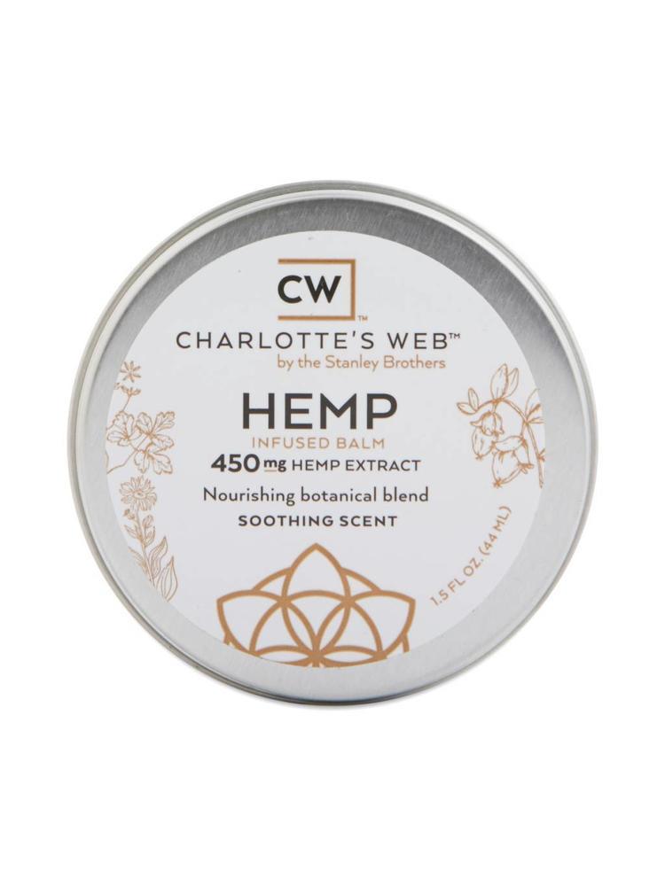 CHARLOTTE'S WEB Charlotte's Web Balm, Scented, 1.5oz.