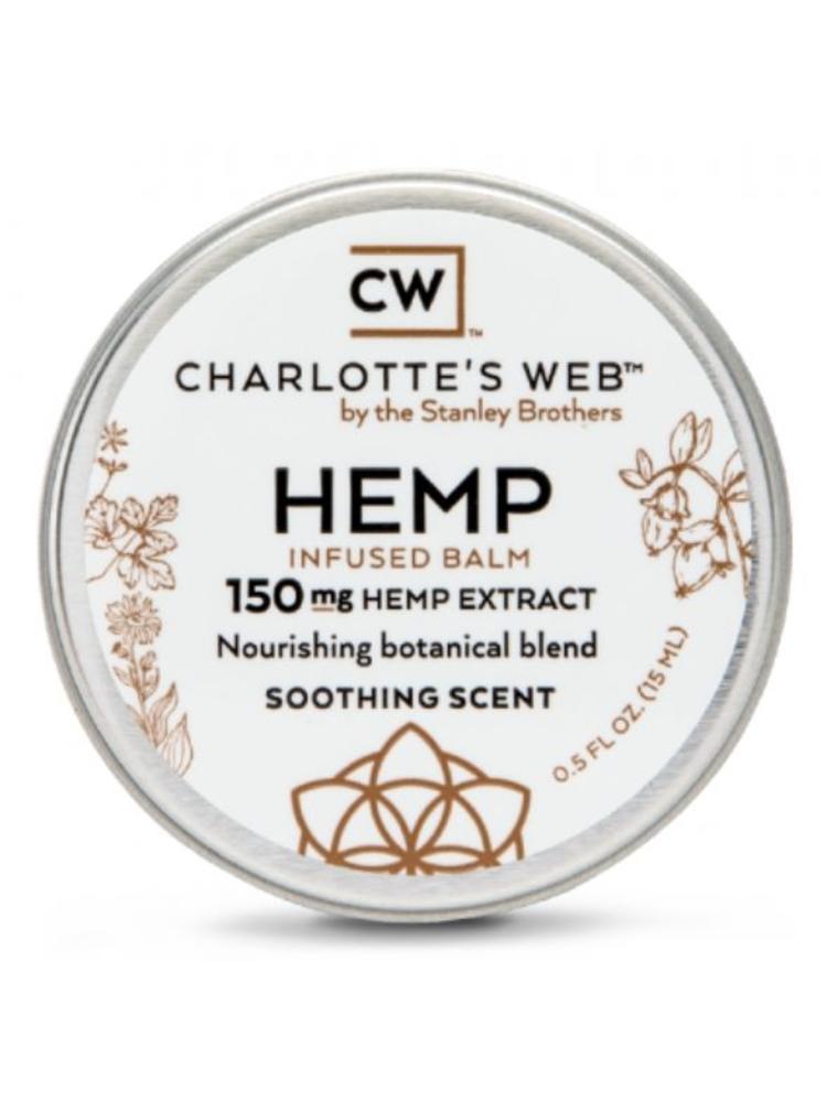 CHARLOTTE'S WEB Charlotte's Web Balm, Scented, 0.5oz.
