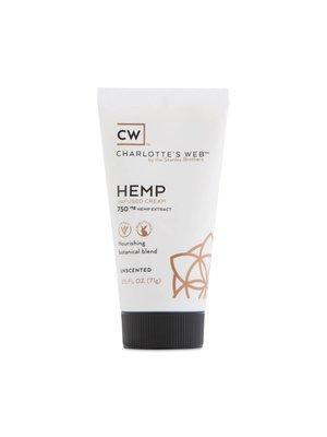 CHARLOTTE'S WEB Charlotte's Web Cream, Unscented, 2.5oz.