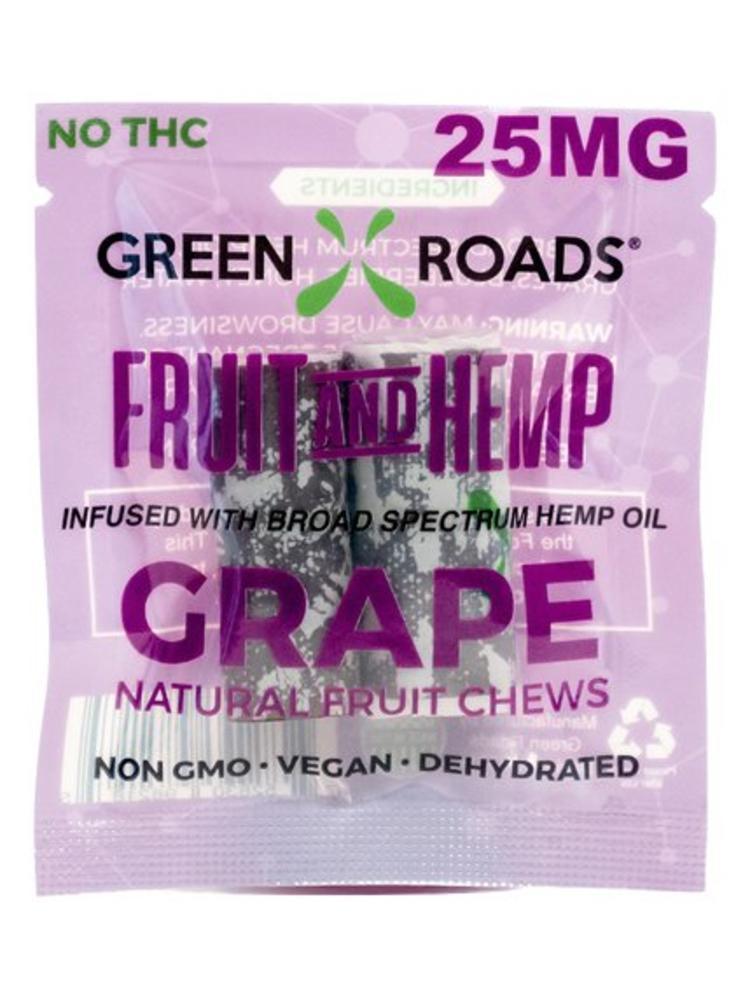 GREEN ROADS Green Roads Fruit & Hemp Edibles, Grape