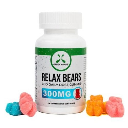 GREEN ROADS Green Roads Edibles Relax Bear Gummies, 30ct