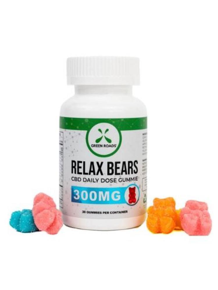 GREEN ROADS Green Roads Edibles Relax Bear Gummies, 30ct