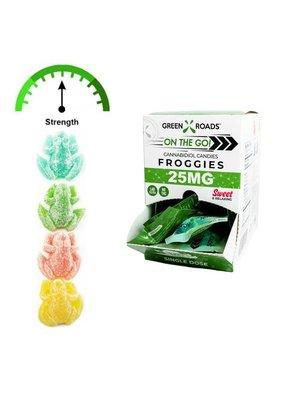 GREEN ROADS Green Roads Froggies 25mg, Single